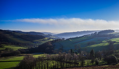 Frost and mist over Hathersage, Peak District, UK (SheffieldRambler) Tags: hathersage peakdistrict