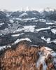 Winter Views (Fabian Fortmann) Tags: berchtesgaden mountain alps alpen winter morning morgen sonnenaufgang sunrise alpenglow alpenglühen drone mavic dji berghütte hütte germany deutschland kneifelspitze
