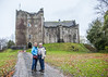 Doune castle (Hans van der Boom) Tags: vacation holiday uk scotland doune castle highlands mantypython unitedkingdom me marjon hans