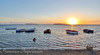 The Dance of the Boats (Francesco Impellizzeri) Tags: trapani sunset sicilia panasonic landscape