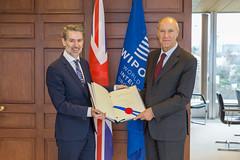 United Kingdom Joins International Design System (WIPO | OMPI) Tags: directorgeneral francisgurry ompi unitedkingdom wipo