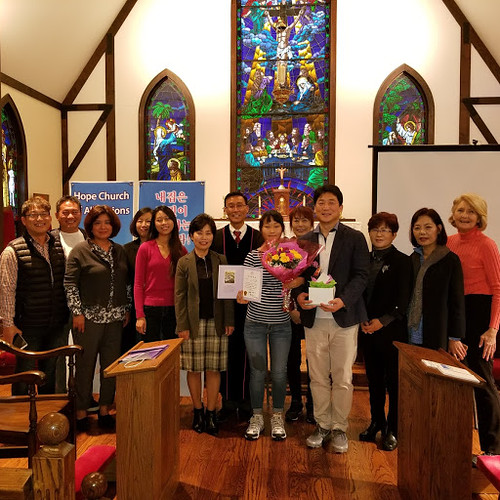 Our Korean worship group