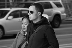 3-3 Candids 2 (TheseusPhoto) Tags: blancoynegro blackandwhite monochrome bnw people candid city streetphotography street streetportrait sanfrancisco sanfran california couple