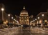 Basilica de San Pedro (por agustinruizmorilla) Tags: city architecture wonder basilica papal roma papa world vatican vaticano night largeexposition agustinruizmorilla