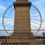 Paris  France - The Luxor Obelisk - Place de la Concorde - Historical Monument 1936 - The Roue de Paris thumbnail