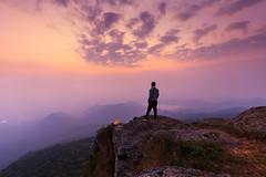 Jesper (Paul0B) Tags: sunrise friend view landscape
