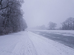 Snow in Leipzig (ako_law) Tags: clarazetkinpark elsterflutbett freistaatsachsen galaxys7edge leipzig s7edge sachsen samsung samsunggalaxys7edge saxony schnee season seasons snow weather winter deutschland de