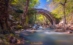 Rio de la Miel (PictureJem) Tags: rio river puente bridge agua water landscape paisaje largaexposición