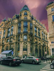 Paris France - Montepio Building - Financial Activities