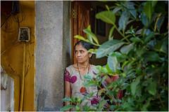 woman ... (miriam ulivi - OFF /ON) Tags: miriamulivi nikond7200 indiadelsud goasud mormugao donna woman streetscene pianta plant streetphotography ritratto portrait stphotographia