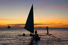 SunsetWhitebeach (meymedali) Tags: picoftheday beach flickr clouds sunset followme photo philippines amazing photooftheday boat sony nex6 ngc tekne vacation island asia coast follow