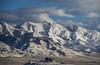 Skull Valley Peaks (JasonCameron) Tags: snow covered mountains utah west desert lone rock clouds sky