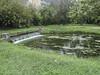 Ninfa: Cascatella vicino al Castello Gotico - Questa ha una funzione di troppo pieno al piccolo lago situato alle spalle del Castello Gotico (sandromars) Tags: italia lazio latina ninfa cascatella troppopieno piccololago