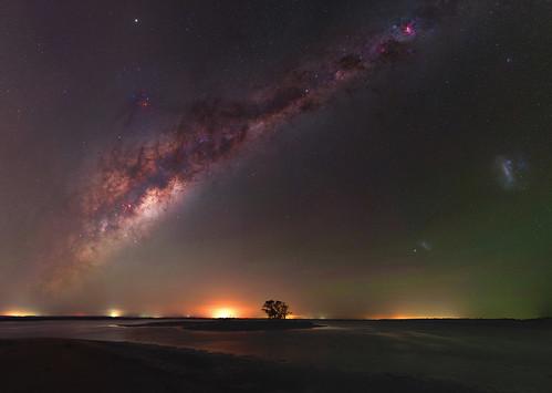 Milky Way over Island Point, Western Australia
