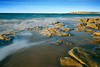 Torquay Morning (ian_underthesea) Tags: beach ocean seascape rocks sand rugged torquay morning misty waves golden
