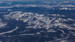 High Country (Lee Rosenbaum) Tags: landscape airplane mountains colorado mountain aerialphotography windowseat snow clouds custer washington unitedstates us