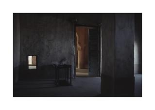 The green door.  ( Ouarzazate ) 1990