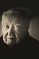 My dad (michel_vdm) Tags: sonya7rm3 fotografie photography blackwhite oldman bw portret
