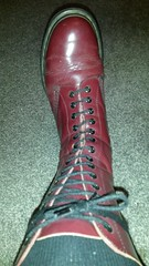 20170923_084642 (rugby#9) Tags: drmartens boots icon size 7 eyelets doc docs doctormarten martens air wair airwair bouncing soles original 14 hole lace docmartens dms cushion sole yellow stitching yellowstitching dr comfort cushioned wear feet dm 14hole cherry indoor 1914 boot footwear socks bootsocks greysocks greybootsocks shoe