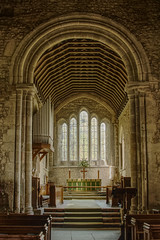 Holy Trinity Church, Bosham, Sussex (CEWWtyke) Tags: holy trinity church bosham sussex saxon bayeux tapestry altar chichester harbour england uk britain great eglise kirche iglesia history historical ecclesiastical architecture window stone vault organ roof hdr