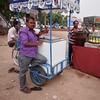 Ice Cream Seller (solas53) Tags: man men people street india colour purple icecream ice cream seller vendor glace helado calle rajasthan