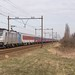 Hillegom LINEAS 186 456 met Alpen Express 13486