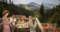 Essen auf der Weizerhütte (Naturpark Almenland) Tags: almenland naturpark steiermark urlaub sommer sommeralm teichalm österreich oststeiermark