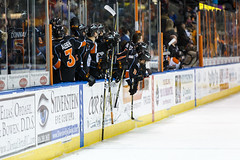 "Kansas City Mavericks vs. Ft. Wayne Komets, March 2, 2018, Silverstein Eye Centers Arena, Independence, Missouri.  Photo: © John Howe / Howe Creative Photography, all rights reserved 2018 • <a style=""font-size:0.8em;"" href=""http://www.flickr.com/photos/134016632@N02/39930355074/"" target=""_blank"">View on Flickr</a>"