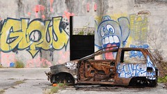 another time, another place (derpunk) Tags: another time place curacao caribic wall graffiti car ruin rust rusty long ago crusty colour colours
