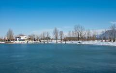 lake Zajarki (116) (Vlado Ferenčić) Tags: lakes landscapes vladoferencic zajarki vladimirferencic lakezajarki zaprešić hrvatska croatia nikond600 nikkor357028 sky winter