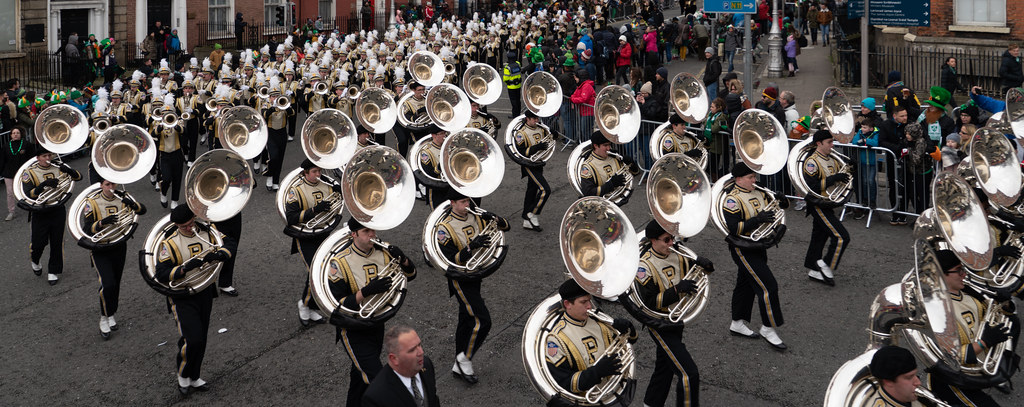 PURDUE ALL AMERICAN MARCHING BAND [DUBLIN PARADE 17 MARCH 2018]-137688