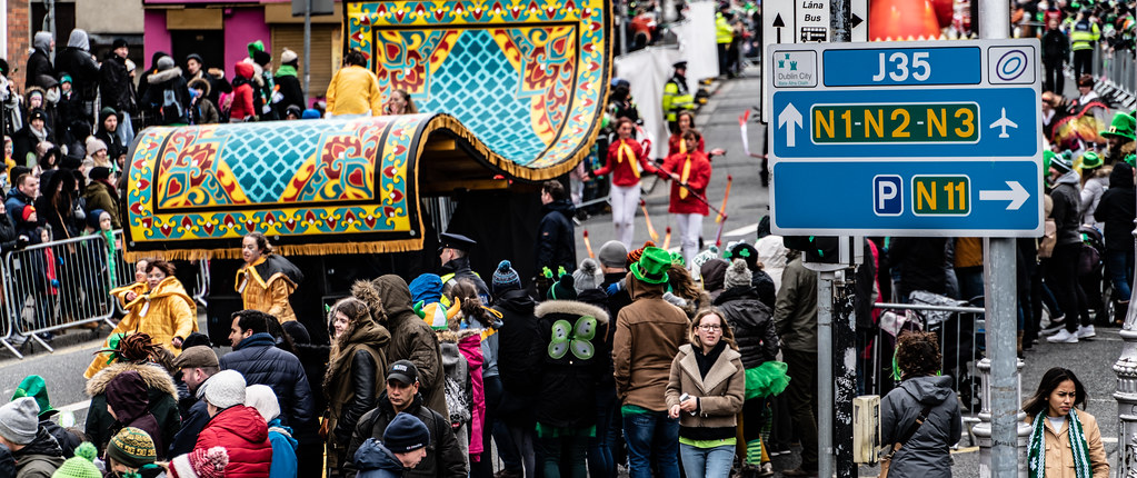 ARTASTIC - TICK TOCK OF THE FAMILY CLOCK [DUBLIN PARADE 17 MARCH 2018]-137709