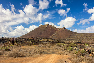 Farm under the volcano
