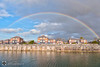A pot of Scouse or Gold. The Jackpot either way. (alundisleyimages@gmail.com) Tags: liverpool marina rainbow weather port harbour sky clouds homes houses quayside citylife water docks northwestengland sailing yachts wall colours