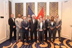 Secretary Tillerson Poses for a Photo with Embassy Nairobi's Marine Security Guard Detachment (U.S. Department of State) Tags: nairobi kenya rextillerson