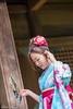 DSC_8944 (Robin Huang 35) Tags: 陳思綺 pocky 桃園神社 神社 和服 二尺袖 卒業服 袴 人像 portrait lady girl nikon d810
