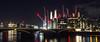 Battersea (ijpears) Tags: battersea london thames bridge night river city cityscape lights illumination