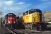 Waiting For a Signal (jamesbelmont) Tags: saltlakecity granttower emd gp60 sd60m euchq npst train railroad railway southernpacific cottonbelt ssw up unionpacific stlouissouthwestern