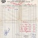 1970 Invoice from Quattrocchi's to Kaladar Hotel