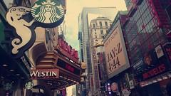 New York 2017 (lisadomachowski) Tags: newyork starbucks holidays summer trip manhattan usa 2017 americandream jayz madametussaud regalcinema colours city bigapple nyc unitedstates buildings