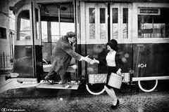 anni 50 4733 (kingeston) Tags: kingeston ernesto fiorentino nikon d750 tram roma atac museo anni 50 set bn bw black white bianco nero blanc noir bianconero blackwhite noiretblanc models