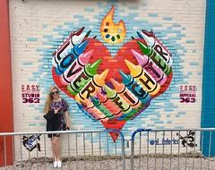 Lover // Fighter (jurvetson) Tags: sxsw austin scenes weekend lover fighter street art