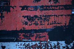 Abstract By Chance (gripspix (OFF)) Tags: 20180216 rottweil germany deutschland badenwürttemberg sticker paint farbe scratched zerkratzt abstract abstrakt