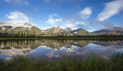 Reflections in the Athabasca River (jack.mihlenstedt) Tags: canada canadianrockies rockymountains athabasca nationalpark jasper national park reflections river water landscape nikond750 nikon1635mm nikon hoya polariser wideangle ngc travel