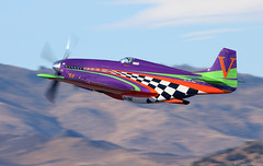 Voodoo (EverydayTuesday) Tags: canon 40d 100400 renoairraces reno nv nevada steadairport p51 p51d mustang rollsroyce merlin v12