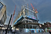 Building Site (Bri_J) Tags: sheffield southyorkshire uk city yorkshire nikon d7200 buildingsite construction crane hdr