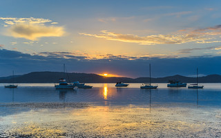 Sunrise over the Bay - Waterscape