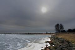 Noord-Hollands landschap (Ger Veuger) Tags: landschap landscape noordholland noordhollandslandschap dutchlandscape markermeer dijk dike ijs ice