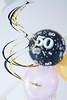 Hanging Decorations (haberlea) Tags: home decorations birthday 50thbirthday balloons black pink swirl gold