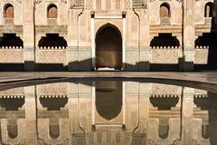 Reflection (Mopple Labalaine) Tags: fès fèsboulemane morocco ma bouinania medersa school marokko